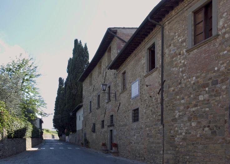 """Casa Machiavelli (l'""""Albergaccio"""") - San Casciano in Val di Pesa (frazione di Sant'Andrea in Percussina)."""