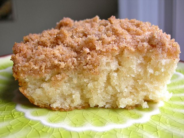 East Coast Coffee Cake (vegan) by watchjennybake, via Flickr