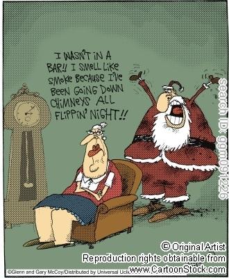 Poor Santa!
