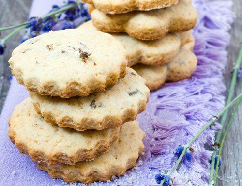 Victorian Lavender Cookie Recipe http://www.fancyflours.com