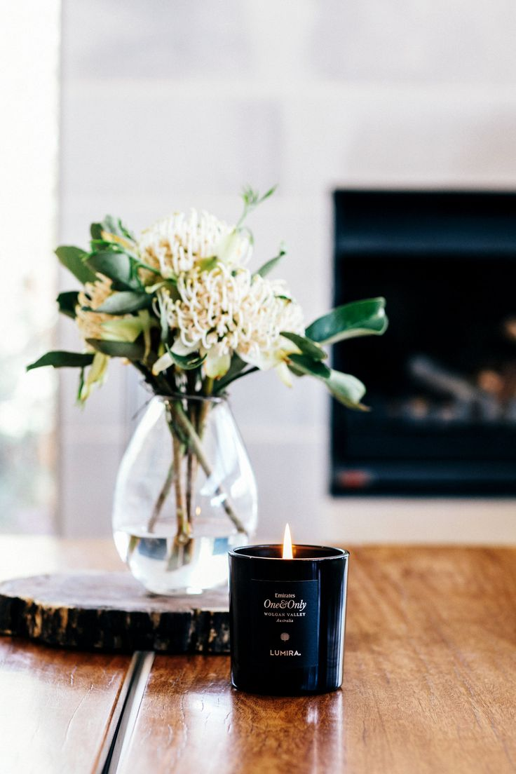 Emirates One & Only Wolgan Valley x Lumira collaboration candle