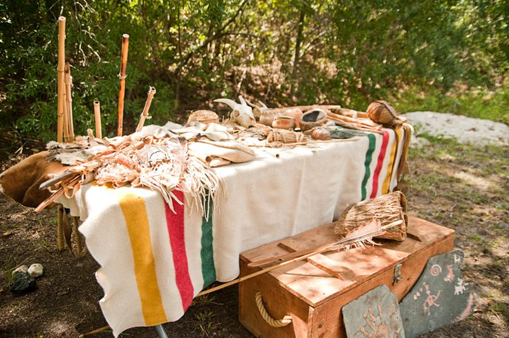 Native american indian birthday party future party ideas for American indian decoration