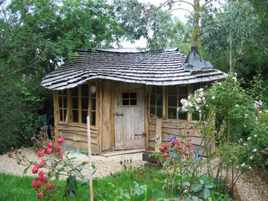 housetree, Eco Shed shed from bottom of garden, great interpretation and build quality.