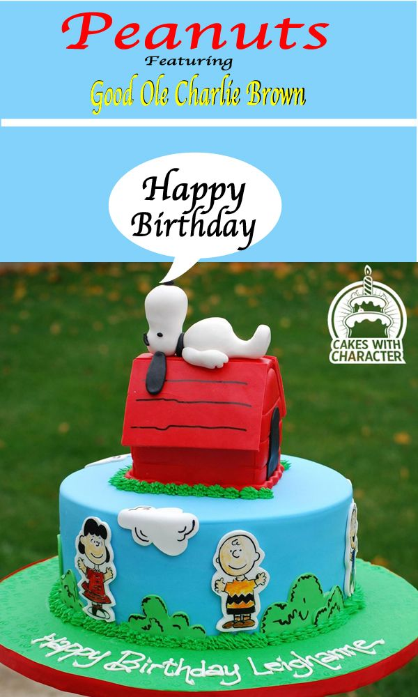 Splendid Snoopy Birthday Cake made by Cakes With Character