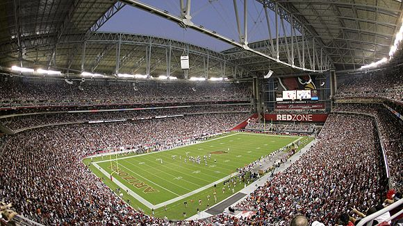 University of Phoenix Stadium - Panoramic - Arizona Cardinals