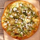Try the White Pizza with Potatoes and Asparagus Recipe on williams-sonoma.com
