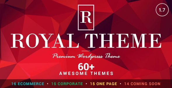 Royal V-2-2 Multi-Purpose WordPress Theme - http://nulledtemplates.net/templates/wordpress-theme/royal-v-2-2.html  Royal V-2-2 Multi-Purpose WordPress Theme Royal V-2-2  Multi-Purpose WordPress Theme – is a professional, easy to use WordPress template . Clean and creative design gives a general idea about a site and also preserves an elegant touch for the details which will make your website stand from the crowd. This template can be used for any type of websites like busi