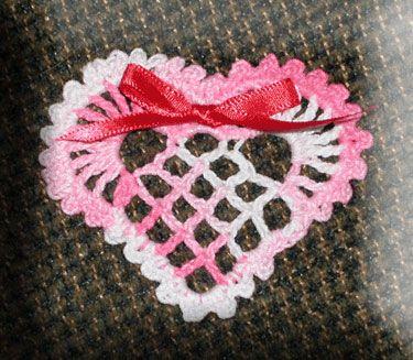 Marta's Victorian Heart Ornament