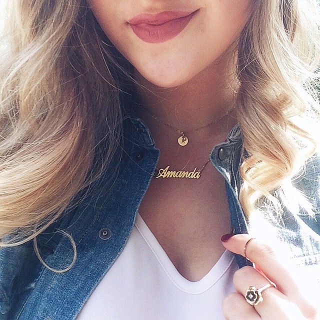 Your custom name necklace will help you feel flawless and personalize your style just in time for back to school season! ✨