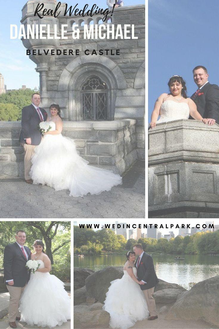 Real Central Park Wedding Danielle and Michael Belvedere Castle Terrace elopement