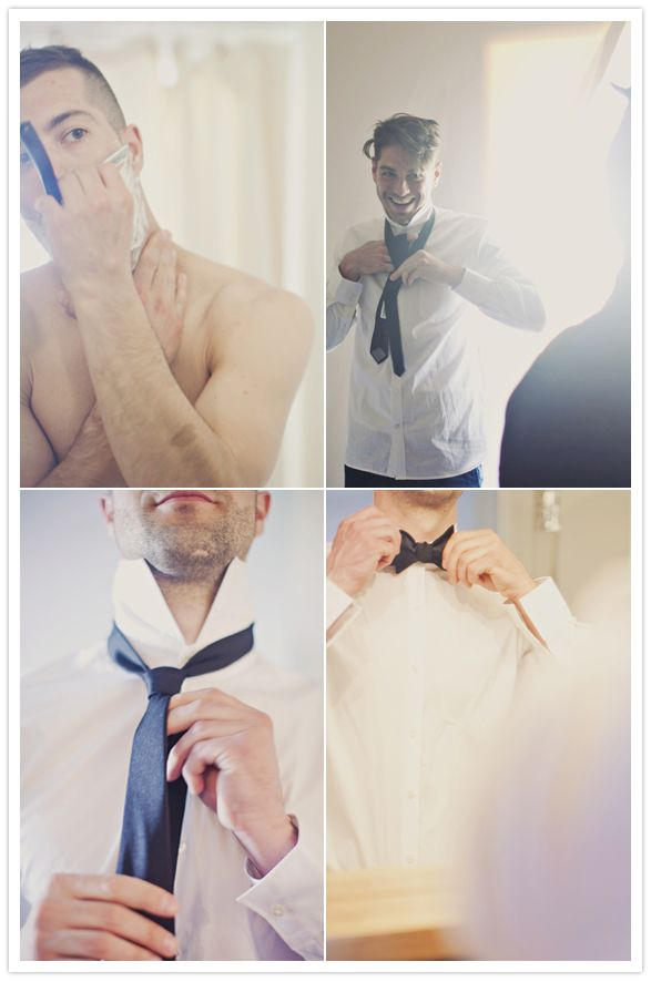 favorite groom getting ready photos ever.