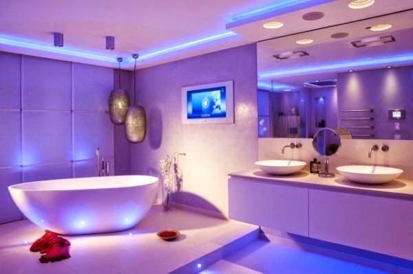 Bathroom Led Lighting Ideas Modern Bathroom Led Bulbs For Bathroom