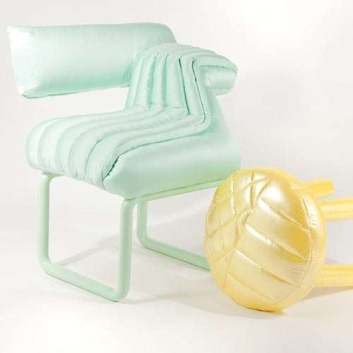 Inflatable Furniture Collections - The Puffy Series by Jessica Carnevale is Full of Summer Fun (GALLERY) #PINTOWIN #ANTHROPOLOGIE