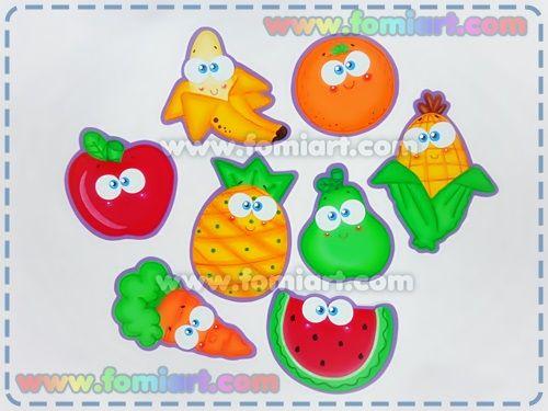 Decoración De Frutas Para el Día De La Alimentación/ Fomiart