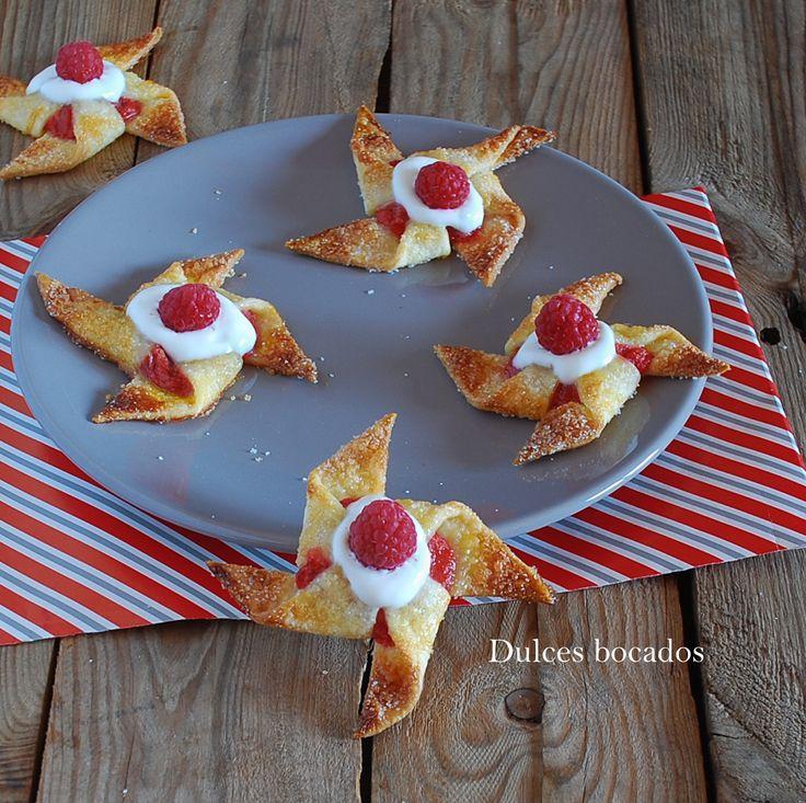 Raspberry pinwheel cookies - Galletas molinete de frambuesa y ruibarbo