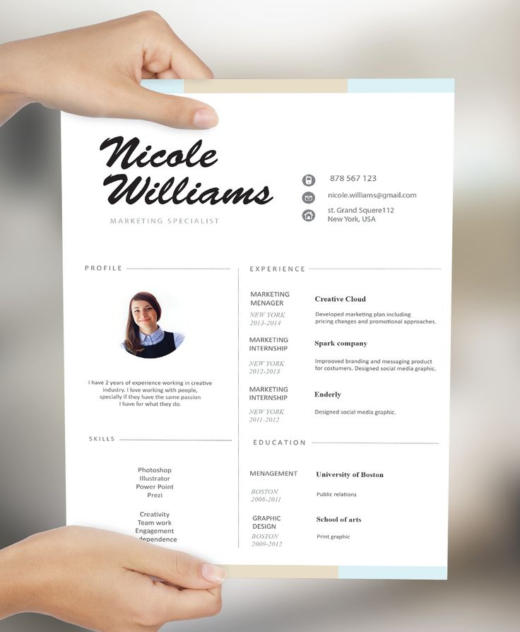473 best Creative CV / Resume images on Pinterest | Creative