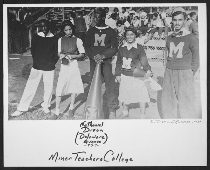 Miner Teachers College was one of three schools that became the University of the District of Columbia. This 1939 photo is from the DC Public Library's Joseph Owen Curtis Photograph Collection.