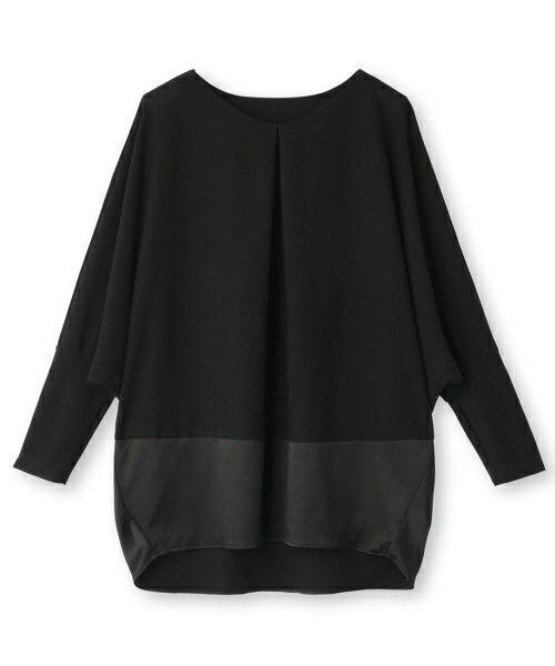 Modify(モディファイ)のドルマンスリーブプルオーバー(Tシャツ/カットソー)|ブラック