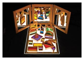 Light Panel Mirror and Blocks Super Set - New Items
