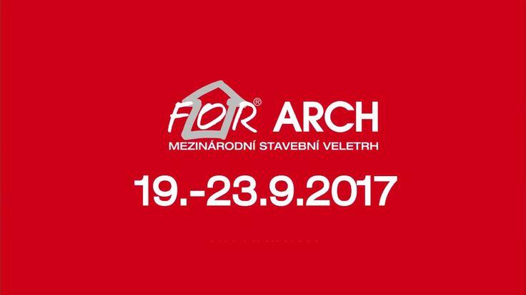 Poslední šance získat volné vstupenky na veletrh For Arch 2017