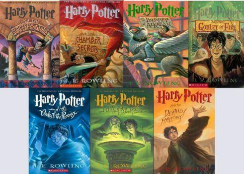 Harry Potter series (12 pieces)