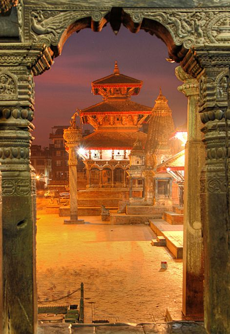 Patan Durbar Square . Nepal #nepal #durbar #square