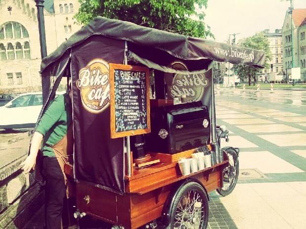 Found on Starpin. Bike Cafe #Poznan #coffee