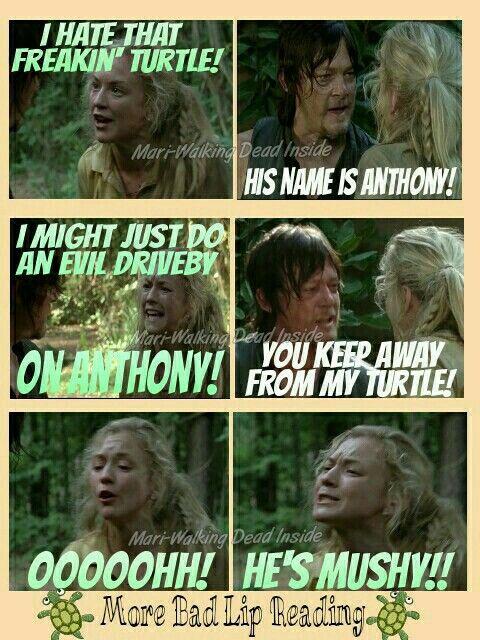 The Walking Dead, Memes, Beth Greene, Daryl Dixon, Bad Lip Reading