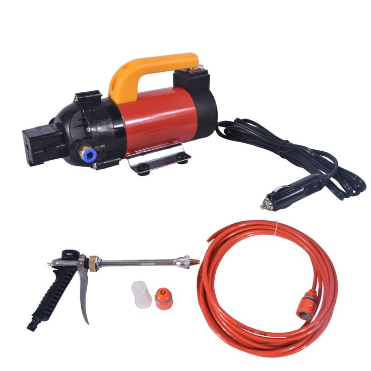 New Arrival Household High - pressure Pump Car Portable Car Washing Machine FL-8028 12V 120W Electric Car Washer 15L 120W 1.3MPA #Affiliate