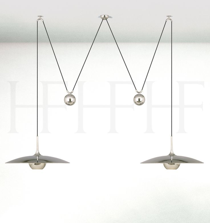 ONOS 55 D Adjustable Pendant Lamp Double Pull