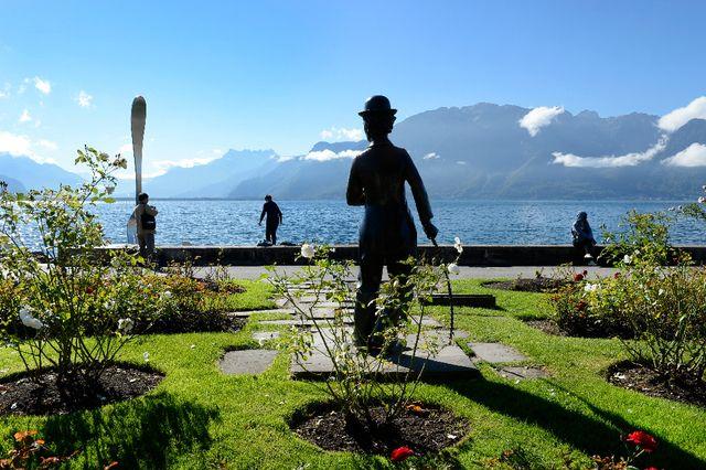 L'équipe de projet cherche à améliorer l'accueil des visiteurs - ici la statue Chaplin - à Vevey et ses abords immédiats.