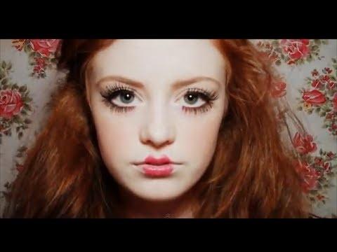 61 best Doll Makeup images on Pinterest   Halloween makeup ...