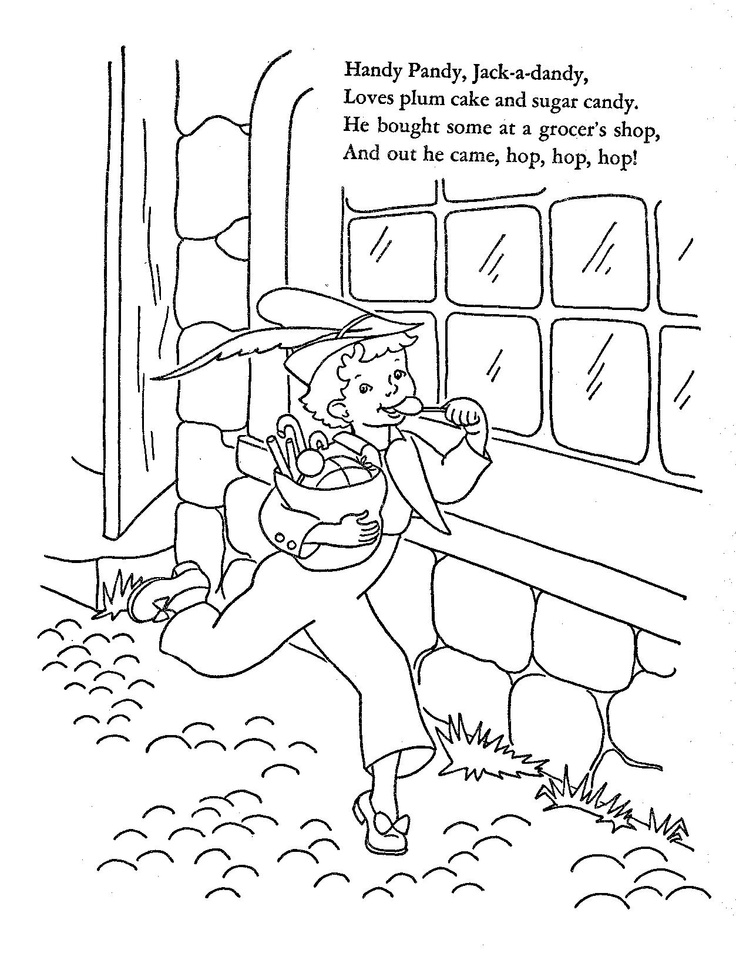 176 best Embroidery-Nursery rhymes images on Pinterest