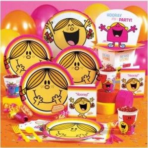 Mr Men and little Miss party supplies