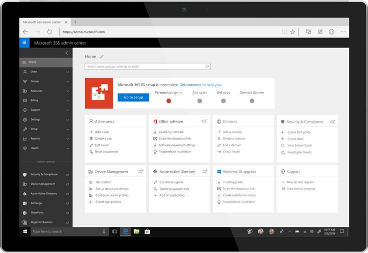 Introducing the Microsoft 365 Admin Center  ||  Last year, at Inspire, we unveiled Microsoft 365, bringing together Office 365, Windows 10 and Enterprise Mobility + Security, to deliver a complete, intelligent and secure solution for the modern workplace. In October Microsoft 365 Business reached general availability, representing an integrated s…