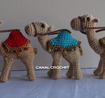Amigurumi cammelli per presepe