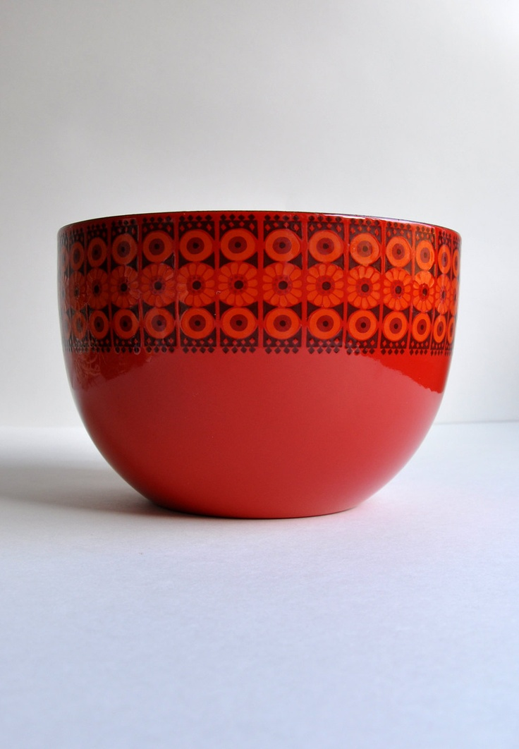 "arabia finland Finel ""Daisy"" Bowl by Kaj Franck"