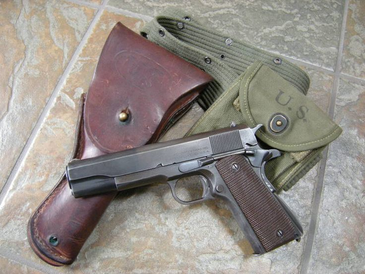 Colt .45 If you have the funds, this should be your #1 gun. Find our speedloader now! http://www.amazon.com/shops/raeind