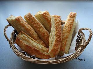 Myrci kiskonyhája: Leveles sajtos rúd