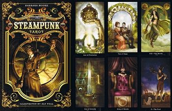 steampunk tarot Barbara Moore and Aly Fell - Google Search