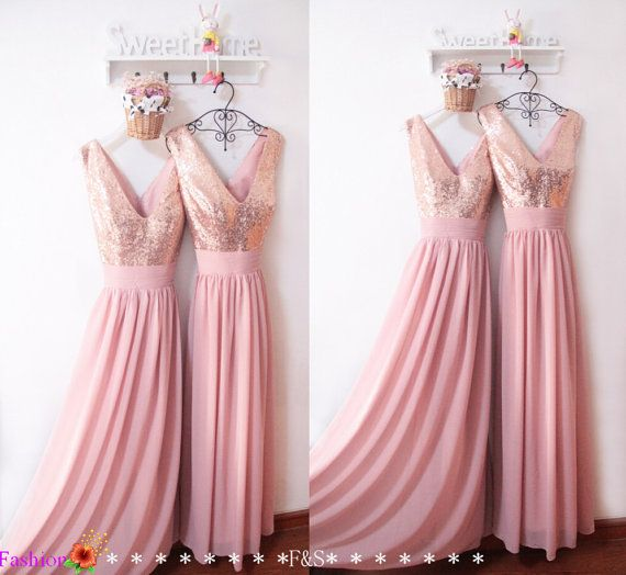 Prom Dresses 2016Sexy Sequin Prom DressCustom by FashionStreets