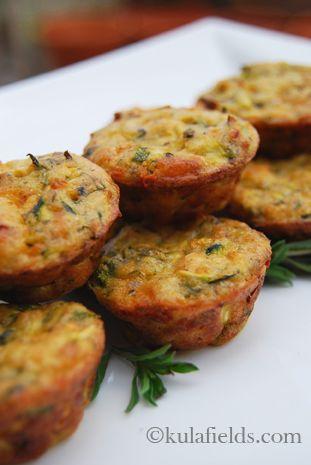 zucchini bites recipe pinterest | Mini Zucchini Bites