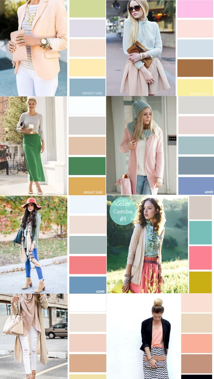 Pastel color blocking guide for your summer outfit