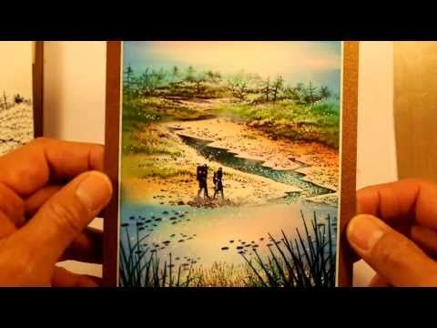 Stampscapes 101: Video 65. River Hike. - YouTube