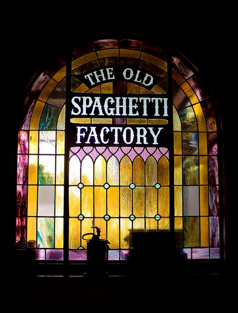 The Old Spaghetti Factory is one of the best places for a meal - ever!! Not been anywhere else where you get garlic bread, soup or salad & ice cream for FREE!!!