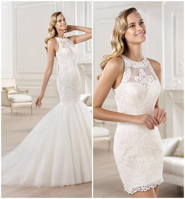 17 best images about vestido de novia on pinterest for Stella york convertible wedding dress