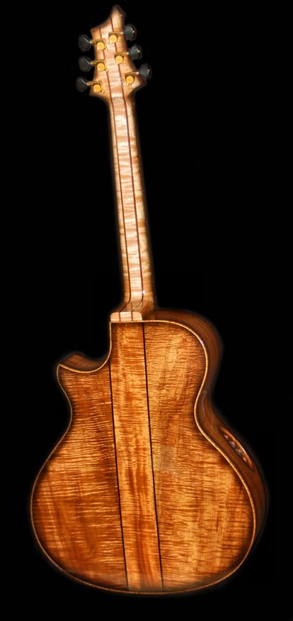 Guitars acoustic custom headstock | Custom acoustic guitars, handmade acoustic guitars, quality acoustic ...