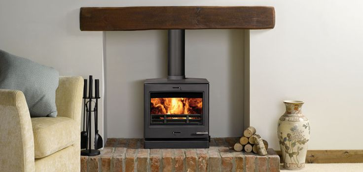 Multi-fuel Boiler Stove. Complete home heating with cutting edge style! The CL8 boiler stove is based on the standard CL8 wood burning stove but will also supply you with hot water
