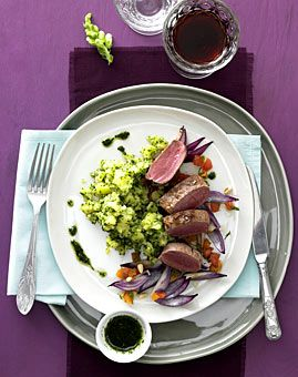 Lammfilet mit Kräuter-Kartoffelpüree - Rezepte - [LIVING AT HOME]