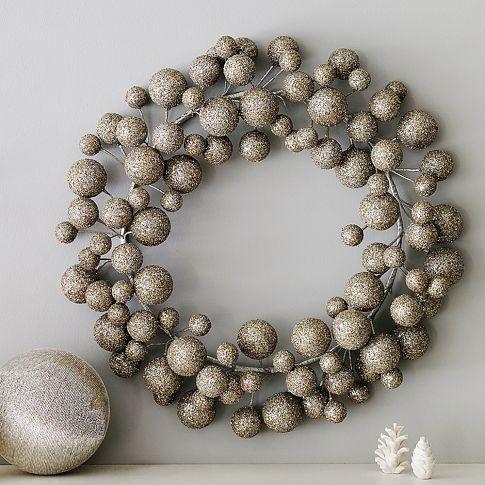 sparkly wreath